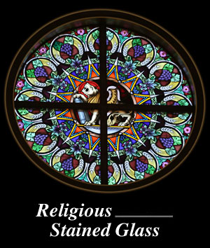 Religious or Liturgical Stained Glass Windows